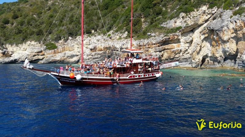 krstarenje brodom