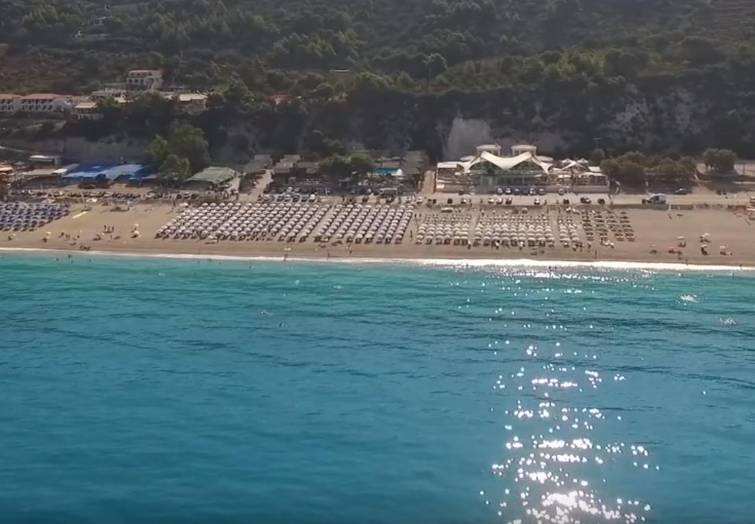 lefkada plaža i more
