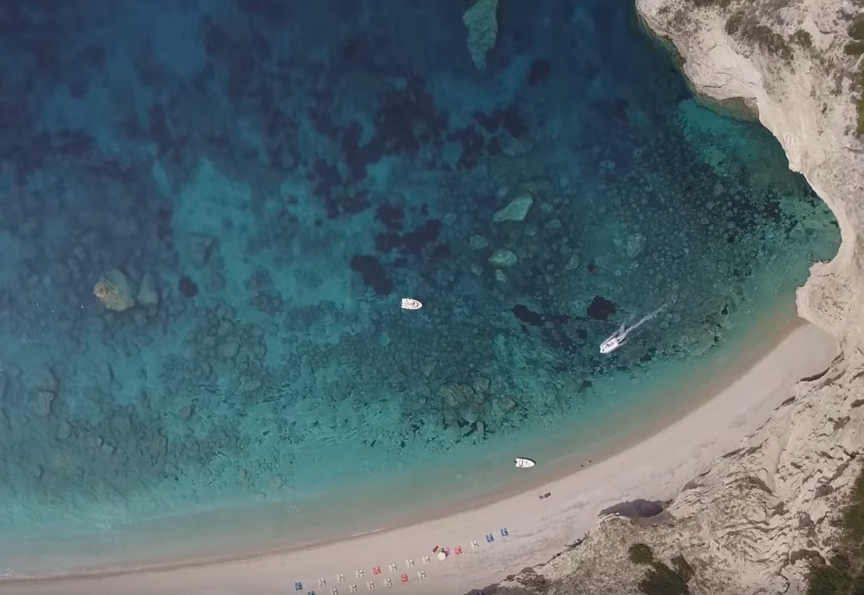 Krf - plaža i uvala