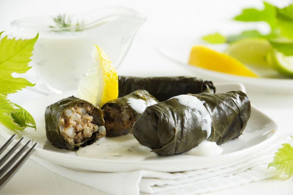 jela koja ne smete propustiti u Grčkoj - dolmadakija sarmice