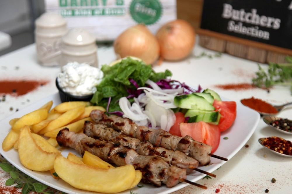 tradicionalno grčko jelo suvlaki