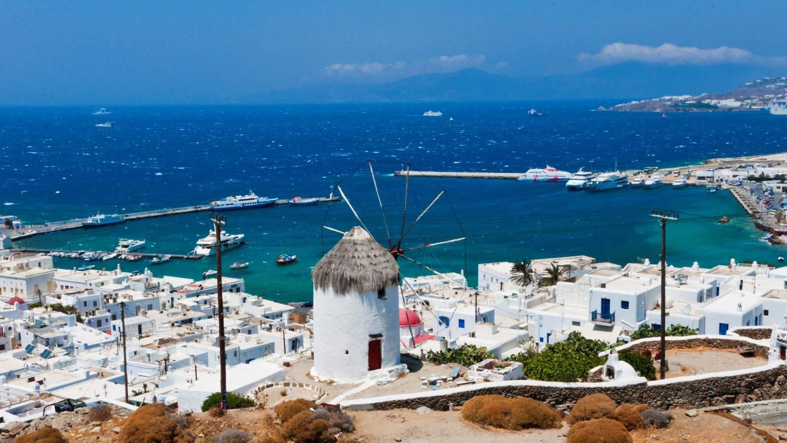 Grčko ostrvo Mikonos